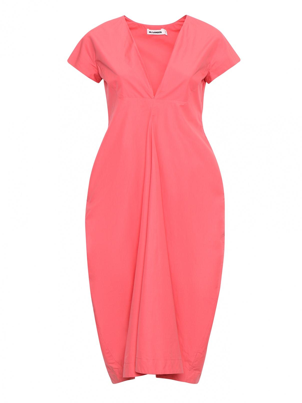 Платье-мини с короткими рукавами Jil Sander  –  Общий вид