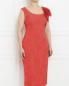 Платье-футляр с цветочным узором Marina Rinaldi  –  Модель Верх-Низ