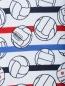 Футболка из фактурного хлопка с узором Bosco Sport  –  Деталь