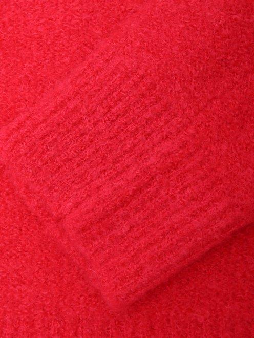 Джемпер из смешанной шерсти с кошельком и цепью - Деталь