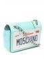 Сумка из кожи с принтом Moschino Couture  –  Обтравка1