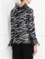 Блуза декорированная пайетками Mariella Burani  –  Модель Верх-Низ1
