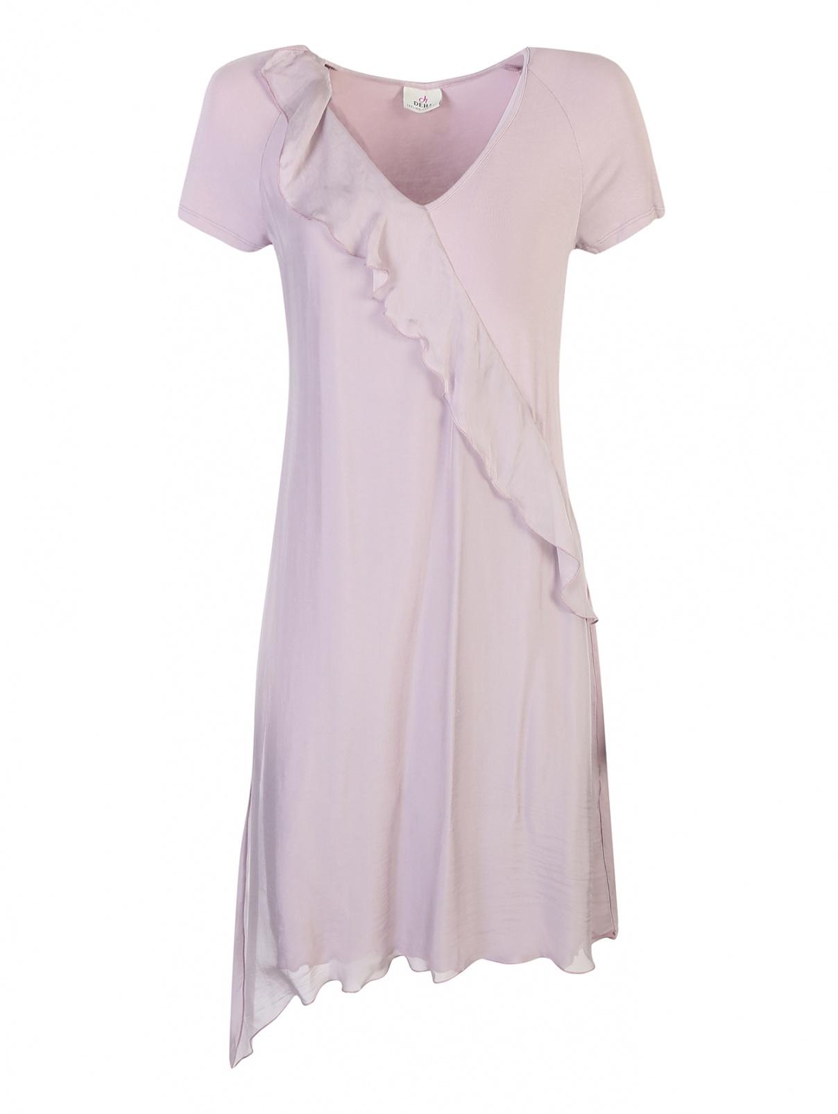 Платье из вискозы ассиметричное DEHA  –  Общий вид