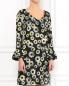 Платье-мини с цветочным узором Moschino Cheap&Chic  –  Модель Верх-Низ