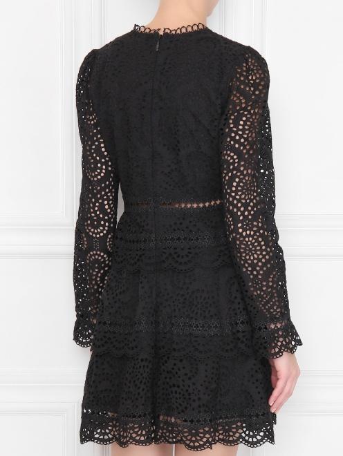 Платье кружевное, из хлопка - МодельВерхНиз1