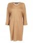 Платье из смешанного кашемира декорированное бусинами Andrew GN  –  Общий вид