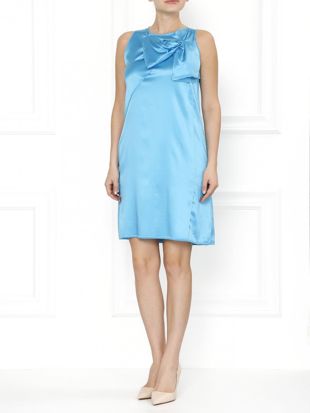 Мини-платье из шелка ICEBERG  –  Модель Общий вид