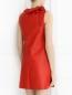 Платье-мини из кожи с декором DROMe  –  Модель Верх-Низ1