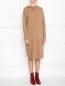 Платье трикотажное из шерсти с капюшоном Max Mara  –  МодельВерхНиз