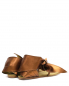 Сандалии из кожи металлик со стразами Etro  –  Обтравка2