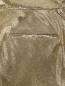 Брюки из шелка с высокой посадкой Balmain  –  Деталь