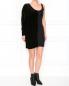 Платье из двух видов материалов Emporio Armani  –  Модель Общий вид
