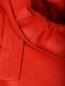 Платье-мини из кожи с декором DROMe  –  Деталь1