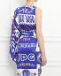 Платье из шелка Jean Paul Gaultier  –  Модель Верх-Низ1