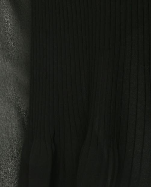Блуза с плиссировкой и длинным рукавом - Деталь1