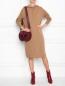 Платье трикотажное из шерсти с капюшоном Max Mara  –  МодельОбщийВид