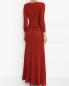 Платье-макси с рукавом 3/4 Alberta Ferretti  –  Модель Верх-Низ1