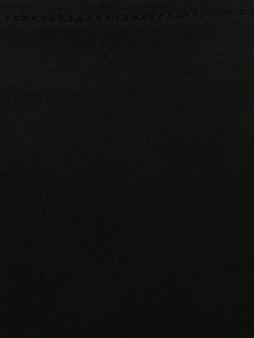 Юбка-мини из хлопка с драпировкой  - Деталь1