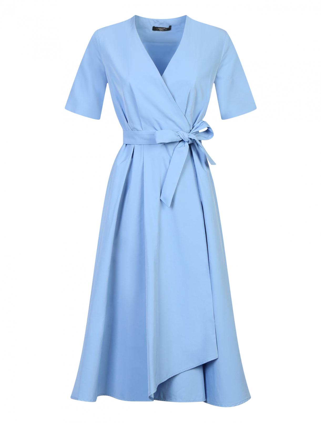 Платье из хлопка с запахом Weekend Max Mara  –  Общий вид