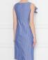 Платье из хлопка с узором полоска Moschino Boutique  –  МодельВерхНиз1