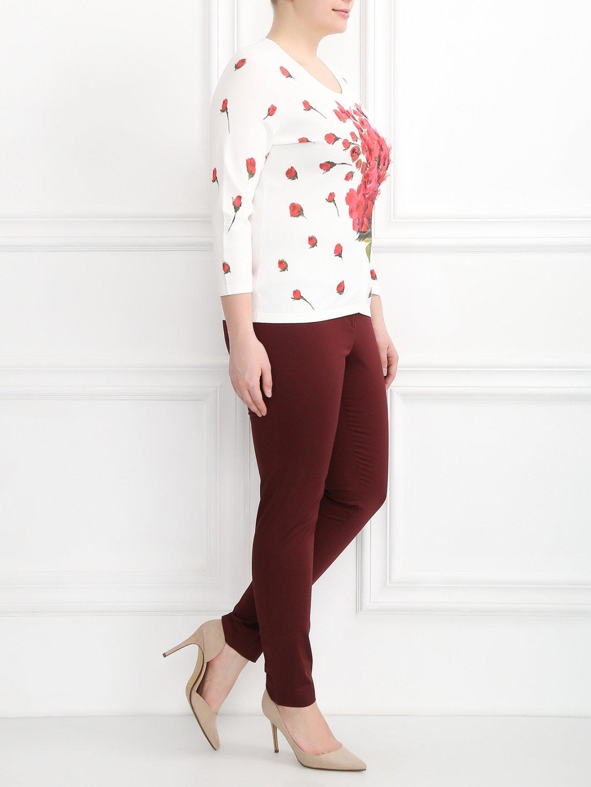 Кардиган с цветочным узором Marina Rinaldi  –  Модель Общий вид