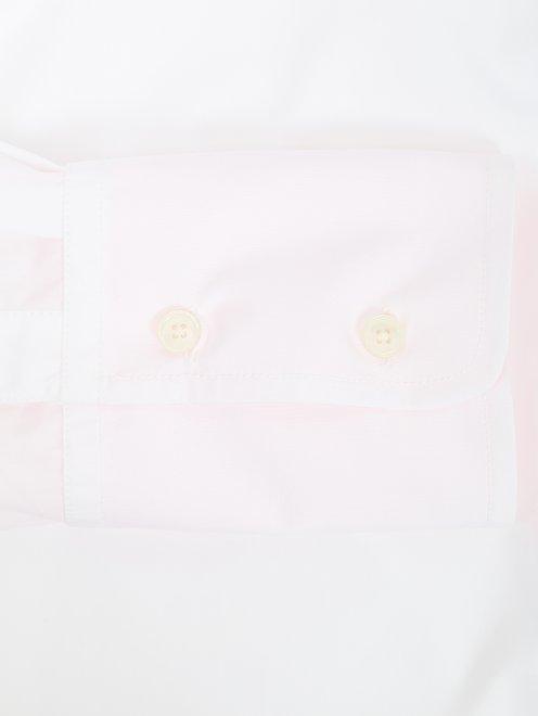 Блуза из хлопка свободного кроя - Деталь1
