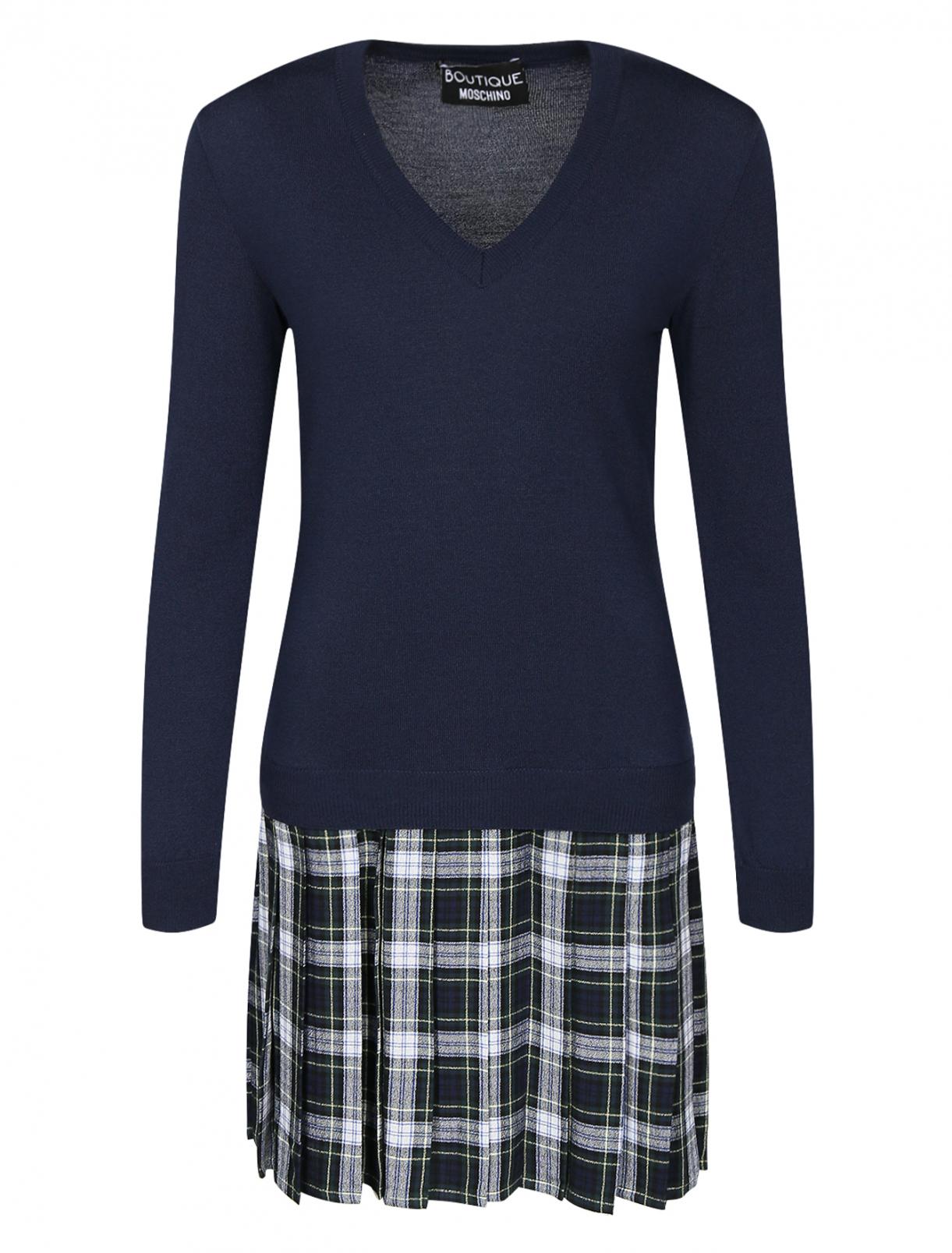 Трикотажное платье из шерсти Moschino Boutique  –  Общий вид