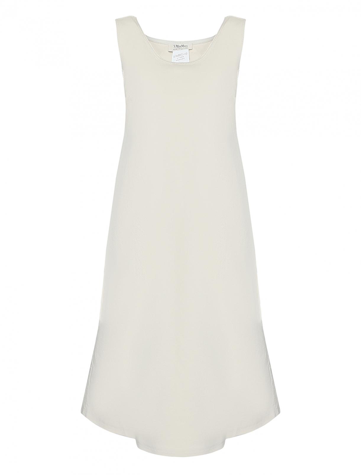 Платье из хлопка, А-силуэта Max Mara  –  Общий вид
