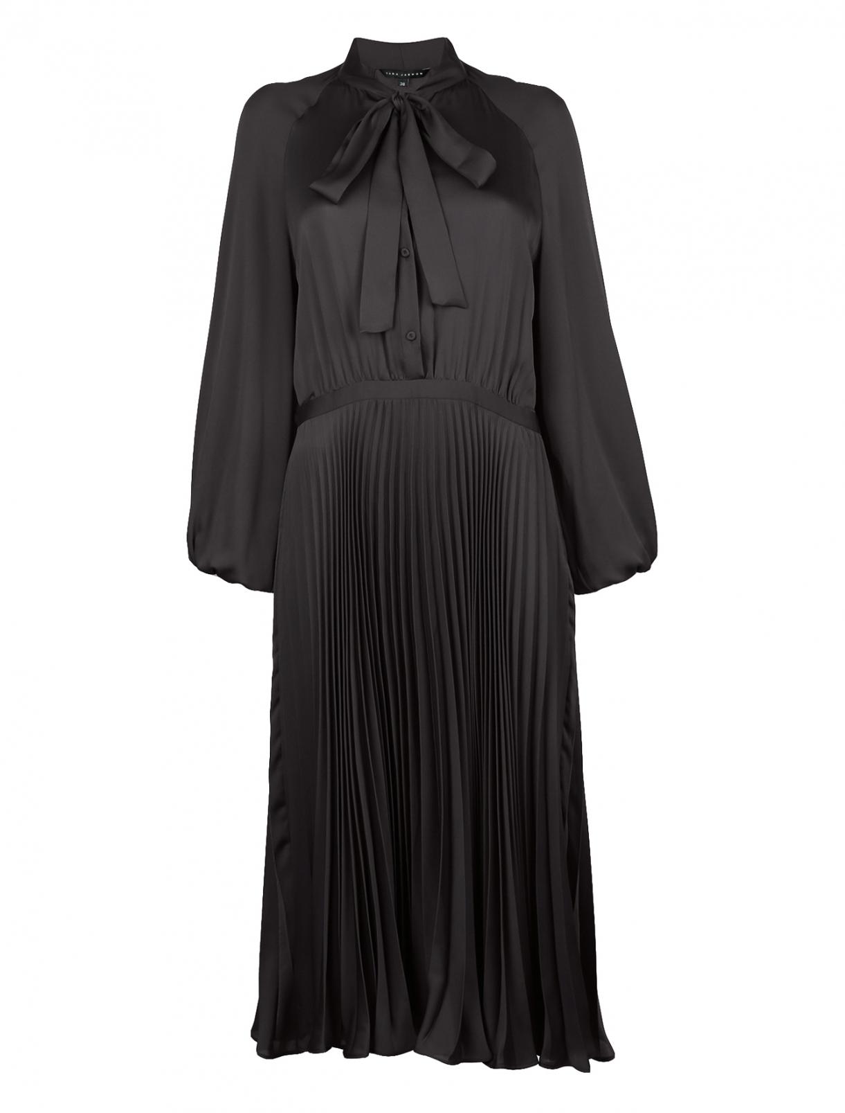 Платье-миди с бантом Tara Jarmon  –  Общий вид
