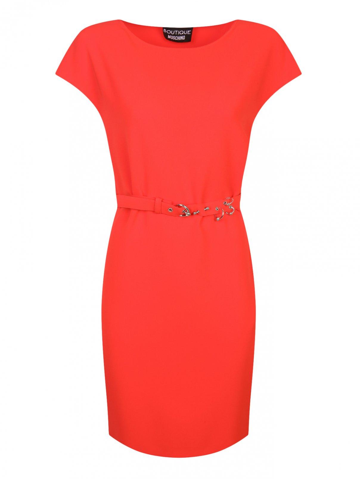 Платье свободного кроя под пояс Moschino Boutique  –  Общий вид