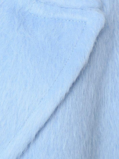 Жилет шерстяной двубортный - Деталь