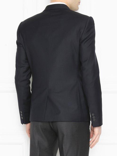 Пиджак однобортный из шерсти - МодельВерхНиз1