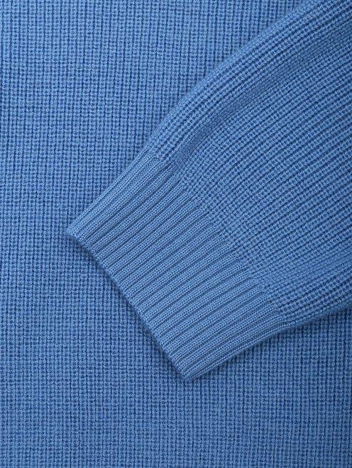 Джемпер из шерсти с завязками - Деталь1